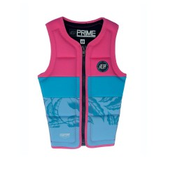 Gilet Prime Youth Fille Jet Pilot - Rose et bleu